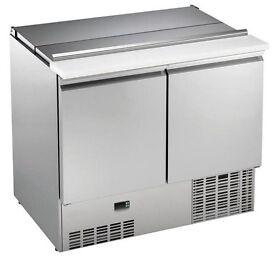 New Two Door Fridge/ Refrigerated Saladette