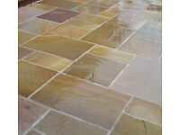 Hanson Natural Rippon Buff Paving Mixed Patio Packs