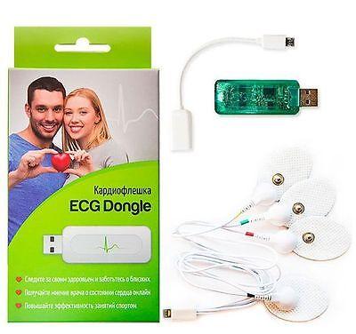 2016 Newest Ecg Dongle Usb Ecgekg Portable Ardio Complex Holter Heart Monitor