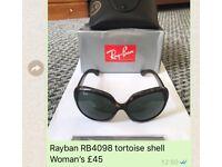 Rayban RB4098 tortoise shell