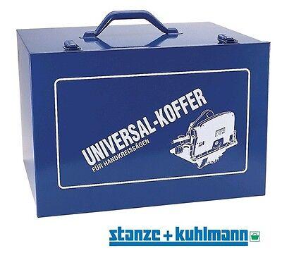 Stabiler Stahlblechkoffer / Koffer für ihre Handkreissäge 410x280x330mm