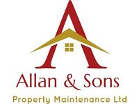 Professional Carpet and Upolstery Cleaning By Allan & Sons Property Maintenance ltd