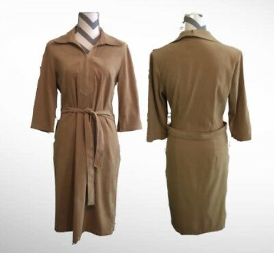 """Halloween 70's/Pocahontas AGB Byer California """"Small"""" Brown Dress"""