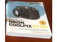 Nikon P7700 Digital Camera Book/Manual