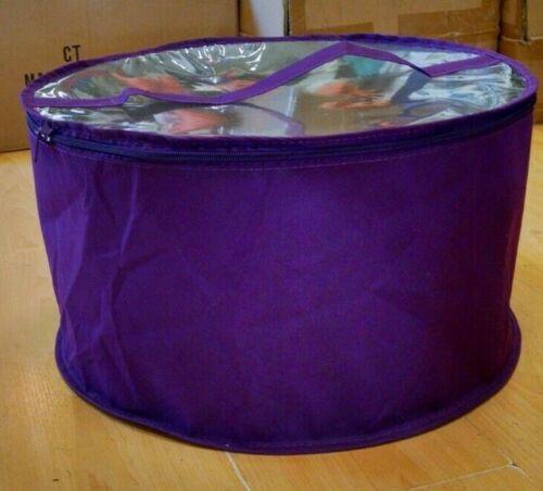 Large hat box Purple