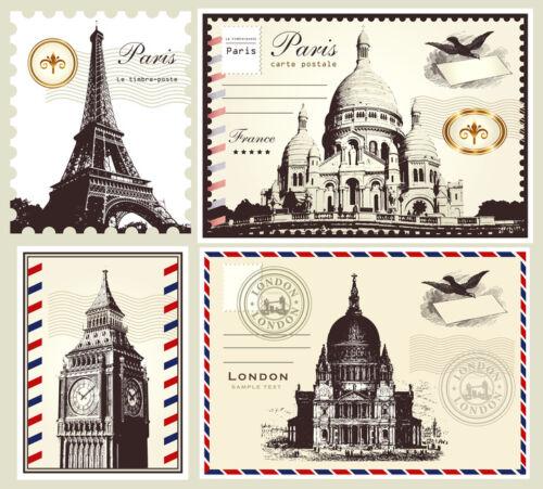 Berühmte Bauwerke und Konstrukteure – so finden Sie Motiv-Briefmarken zum Thema Architektur