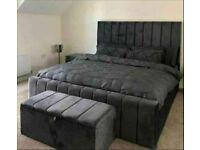 💯 Quality Plush Velvet Beds