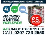 CHEAP AIR CARGO & SHIPPING TO NIGERIA FROM THE UK WITH A-B CARGO EXPRESS - WE DELIVER THE GOODS