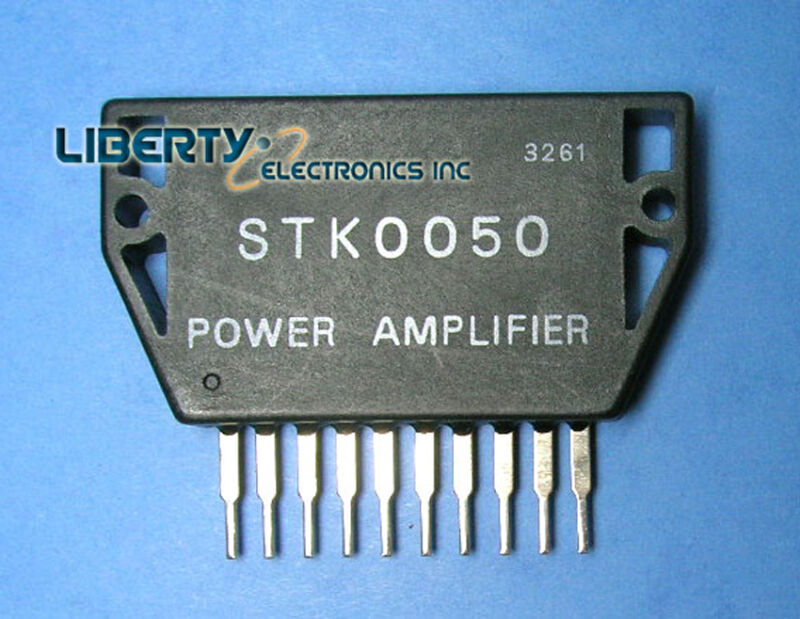 LOT of 2 (two) NEW IC SANYO POWER AMPLIFIER STK0050 + HEAT SINK COMPOUND