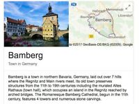 A cultural & 🍺 trip to Bamberg, Franconia? Prost!