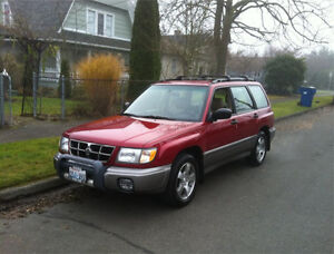 WANTED: SUBARU FORESTER