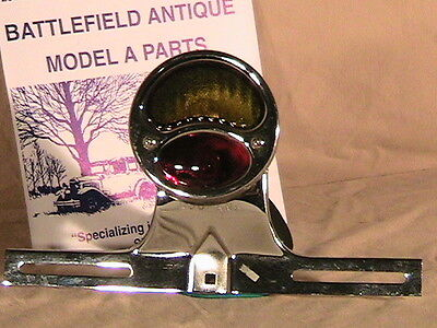 1928-1931 Model A Ford Ratrod Streetrod LH Taillite Setup in Stainless & Chrome