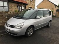 Renault Espace 7 SEATER 2006 FSH, LONG MOT, IMMACULATE