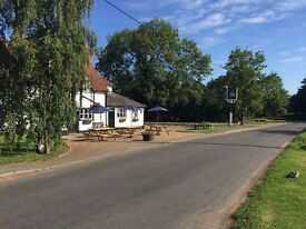 Part Time Lunch Waiting/Bar Staff needed for The Horns Crazies Hill , Country Pub/Restaurant