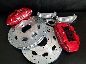 Datsun 510 280ZX New FRONT Disc Brake 6 Piston Wilwood Complete Kit 79-83 TURBO