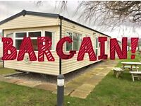 STUNNING static caravan for sale - incredible offer! Sited on 4 star pet friendly regent bay