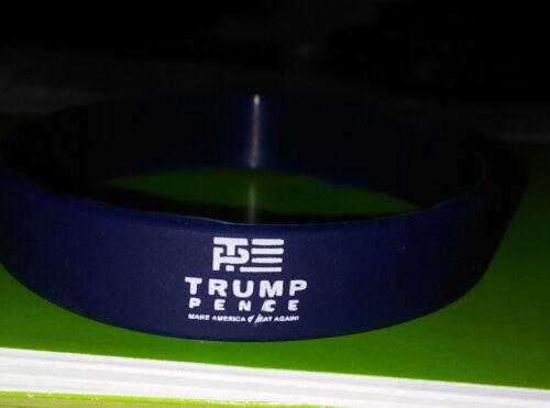 Trump Pence Logo 2016 Silicone  Wristband Adult size