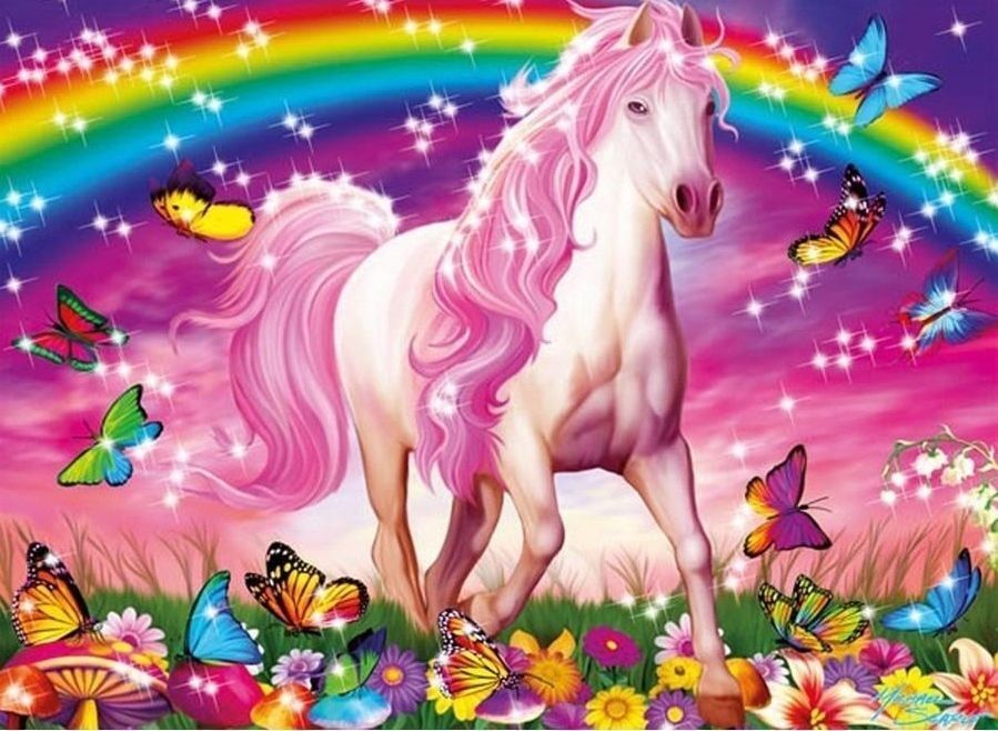 Tortenaufleger---Pferd----Geburtstag--Party--Tortenbild--Fondant //Oblate