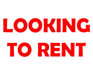 LOOKING FOR - 1 or 2 Bedroom Apartment/House - MAX $1300