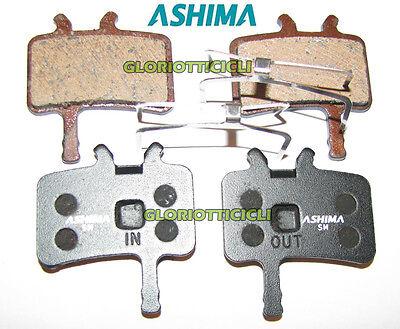 ASHIMA Set 4 Pastilla de Freno Para Avid Juicy Semillas Metálicas