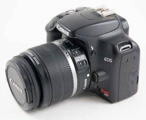 Canon EOS Rebel XS Digital Camera + 18-55mm IS Lens