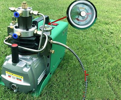 Set Pressure 40mpa High Pressure Electric Air Pump For Airgun 110v .1.8kw