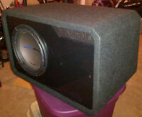"MTX Audio Jack Hammer 10"" Subwoofer Vented Box (JH5510D)"