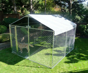 Kennel Cover Plus 10-Feet W x 10-Feet L or 5-Feet W x 10-Feet L