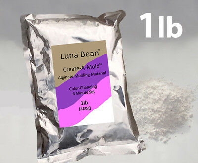 Luna Bean Create A Mold Chromatic ALGINATE MOLDING POWDER Life Cast Gel Casting