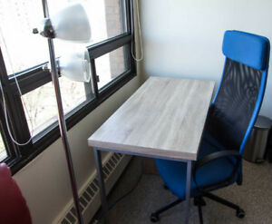 Desk Top , and MARKUS Swivel chair