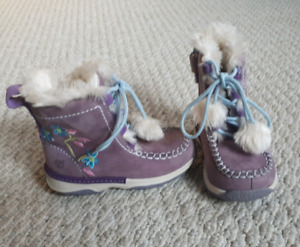 Timberland toddler girls size 7 winter boots
