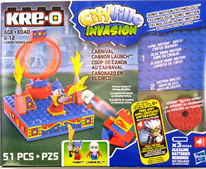 KRE-O Carnival Cannon Lauch City Ville Invasion NEUF