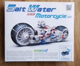 Salt Water Fuel Cell Motorcycle Bike NO Batteries - Kids Toy - NEW