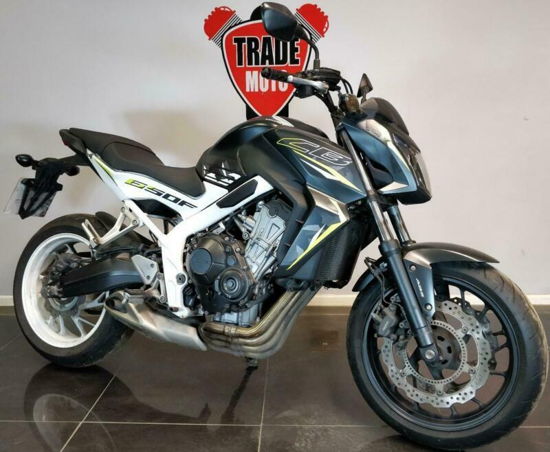2016 66 HONDA CB 650 F ABS WHITE TRADE SALE PROJECT CAT N CB650F 10K EASY  FIX | in Stourbridge, West Midlands | Gumtree