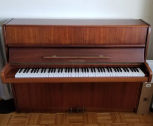 Upright piano with bench! Great condition!