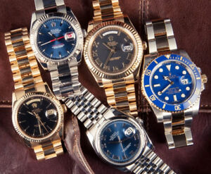 WE BUY WATCHES__ACHETONS MONTRES ROLEX_CARTIER_OMEGA_BREITLING..