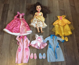 """18"""" Belle Doll with outfits"""