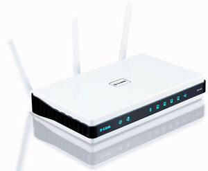 High End D-Link Router DIR-655 and Range Extender DAP-1320