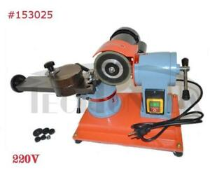 220V Circular Round Saw Blade Grinder Sharpener Rotary Mill Sharpener Machine 153025