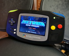 Custom Backlit GBA Nintendo Gameboy Advance