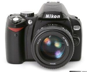 NIKON D60 Body 32GB mem.card incl. / absolutelly MINT
