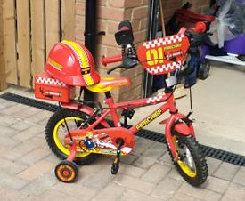 Kids fireman bike