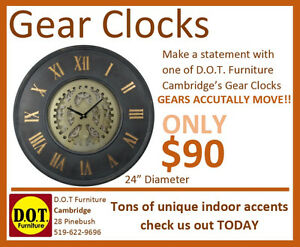 Gear Clocks-Dot Furniture Cambridge