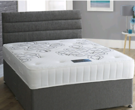 ⭐ BEDS ON SALE! BRAND NEW DIVAN BED SET. ALL SIZES FAST DELIVERY ⭐