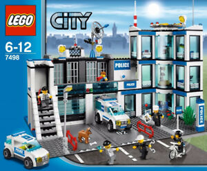 "LEGO City #7498 Police Station ""RETIRED"""