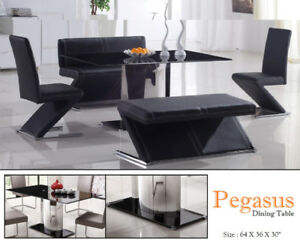 Luxury Dining table for sale with 4 chairs and 1 bench