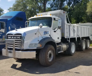 2006 Mack Granite Tri-Axle Dump Truck for Sale