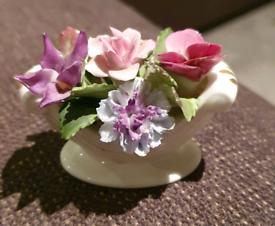 Porcelain floral model