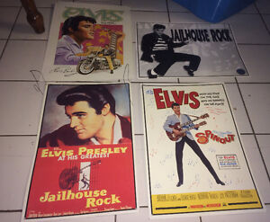 Elvis Presley Tin Metal Signs $10 Each or All 4 for $25