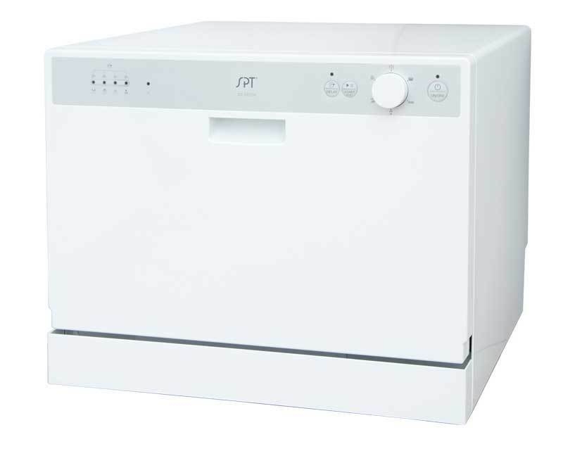 "SPT 22"" Countertop Dishwasher White SD-2202W"